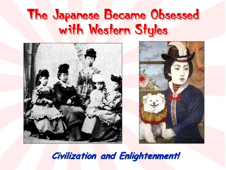 The Japanese Became Obsessed with Western Styles