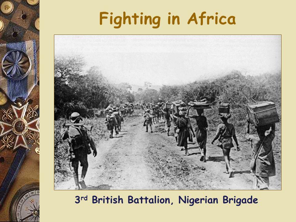 3rd British Battalion, Nigerian Brigade