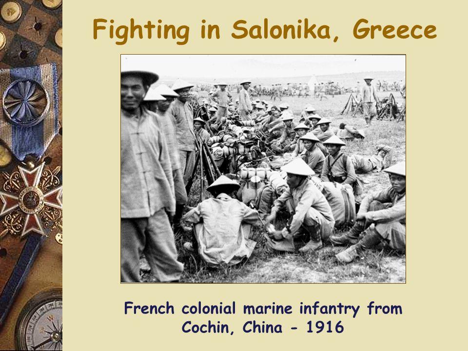 Fighting in Salonika, Greece