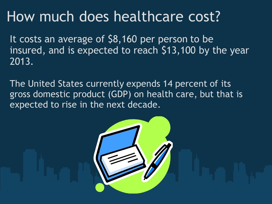 How much does healthcare cost