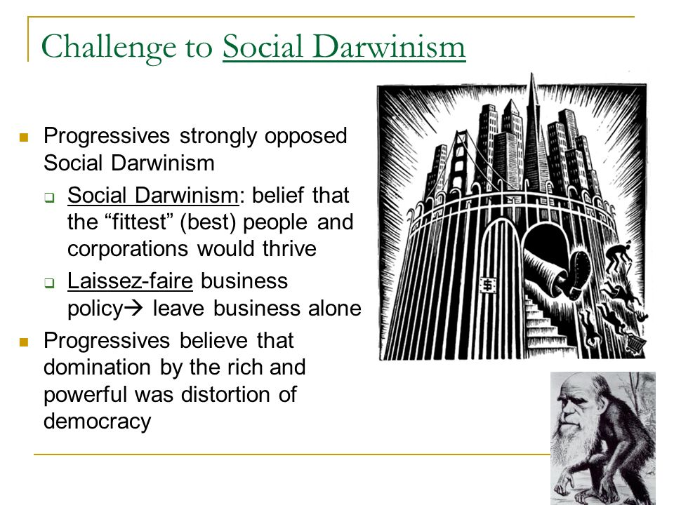 Challenge to Social Darwinism