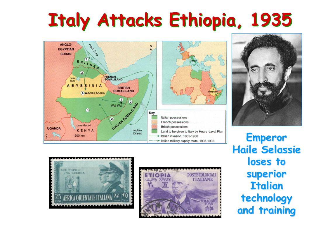 Italy Attacks Ethiopia, 1935