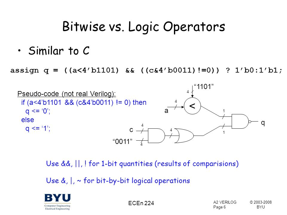 bitwise operators in c pdf