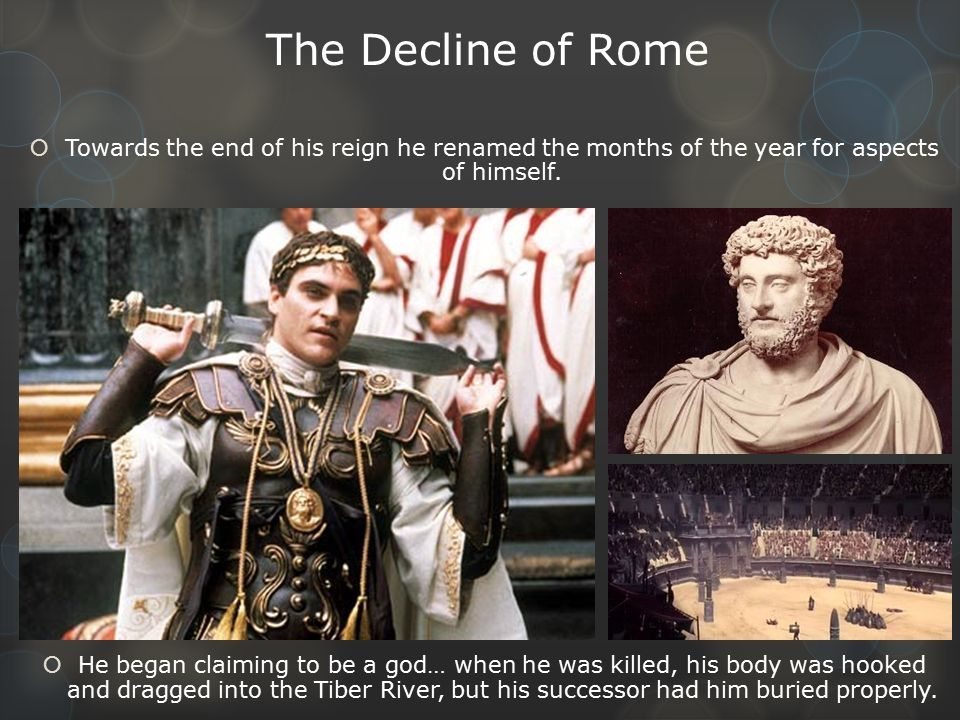 the decline of rome 30032012 rome's collapse inspired many gripping tales,  a few months after the publication of the first volume of the decline and fall of the roman empire,.