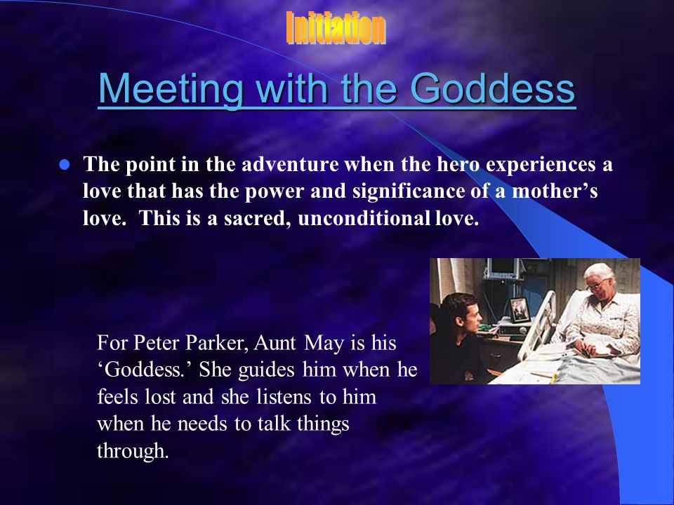 Meeting with the Goddess