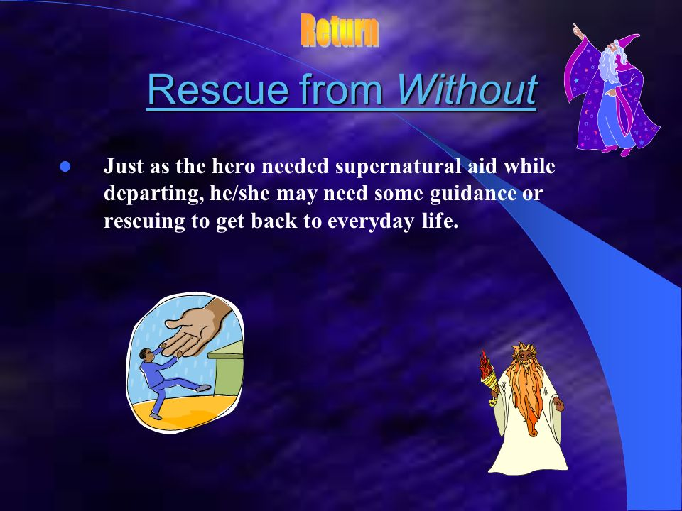 Rescue from Without Return