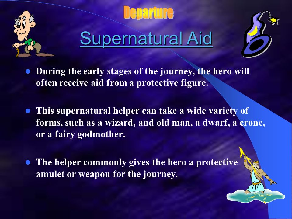 Supernatural Aid Departure