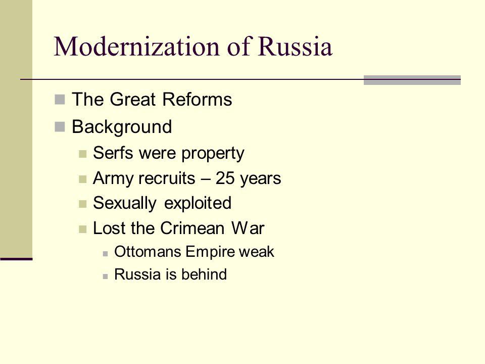 Modernization of Russia