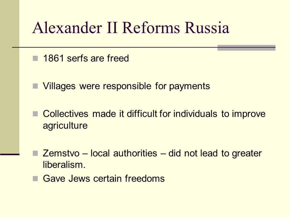 Alexander II Reforms Russia