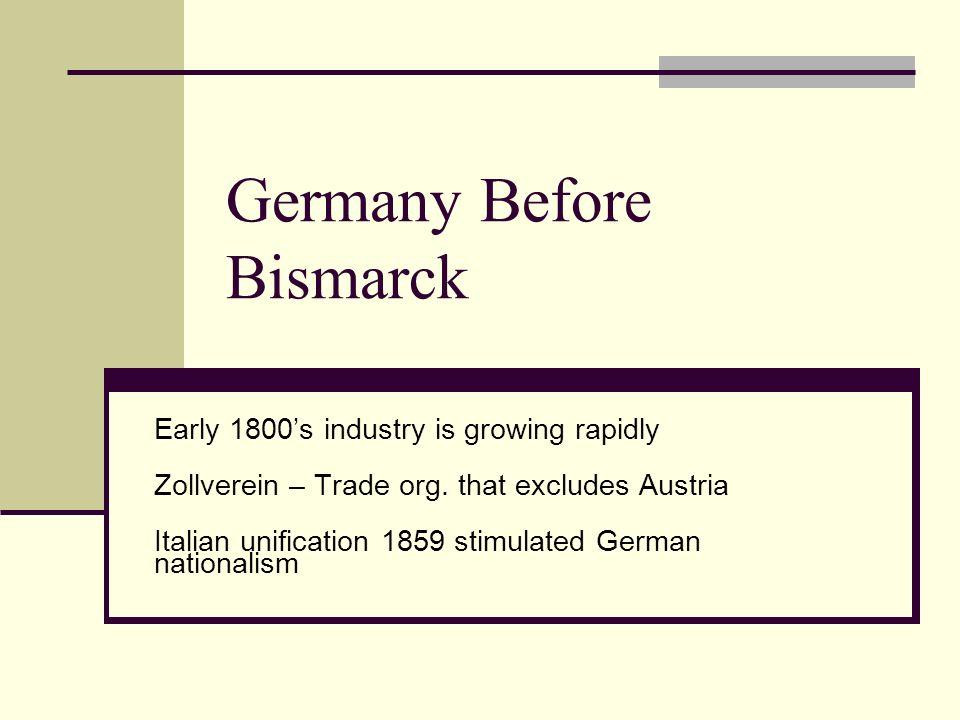Germany Before Bismarck