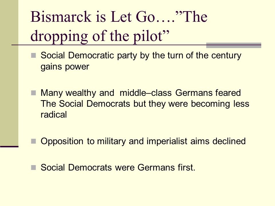 Bismarck is Let Go…. The dropping of the pilot