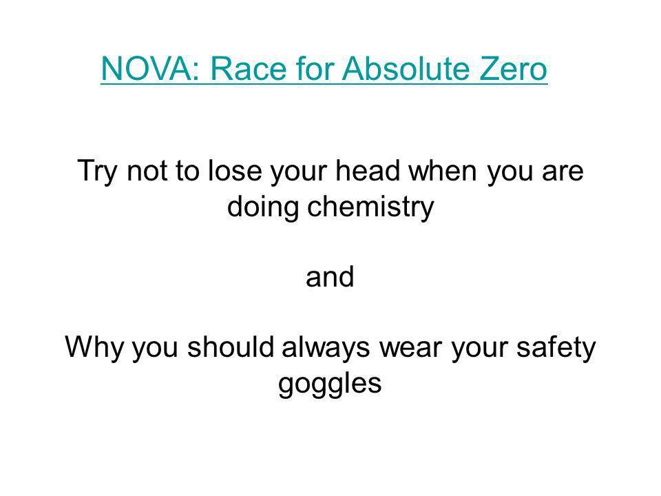 NOVA: Race for Absolute Zero