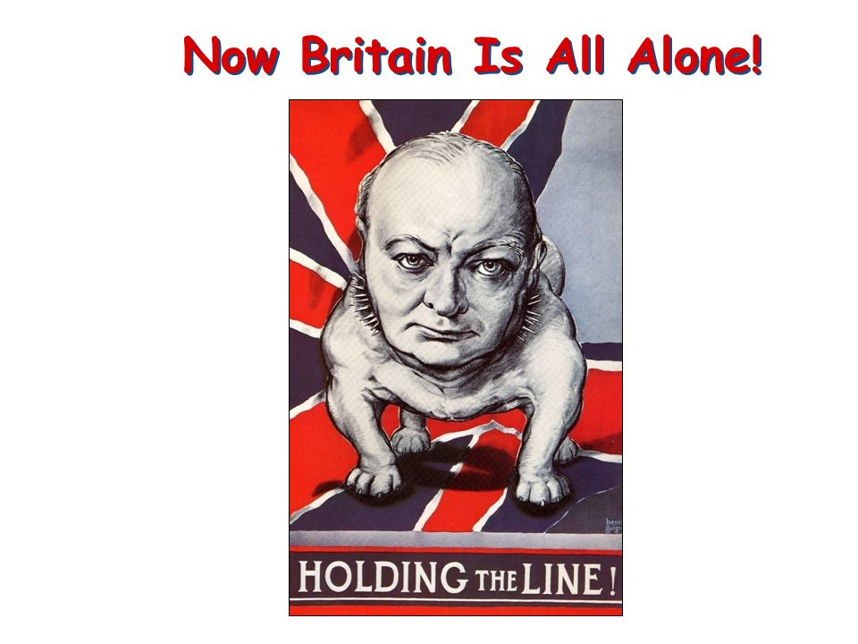Now Britain Is All Alone!