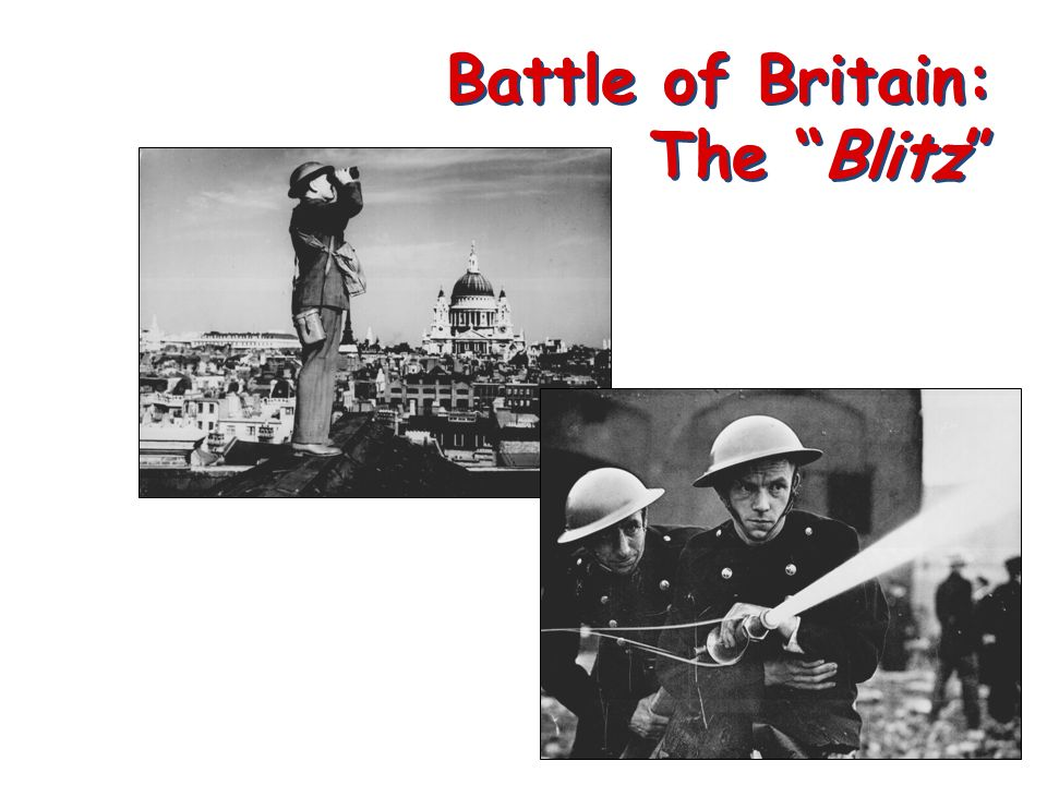 Battle of Britain: The Blitz