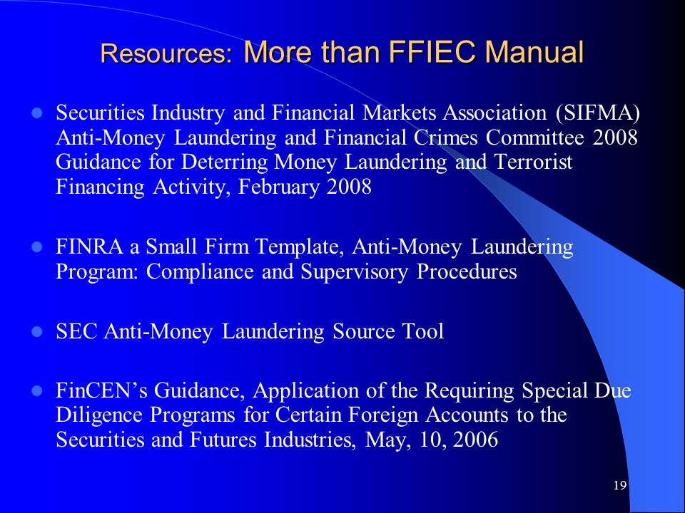 anti money laundering compliance program template - fiduciary investment risk management association ppt