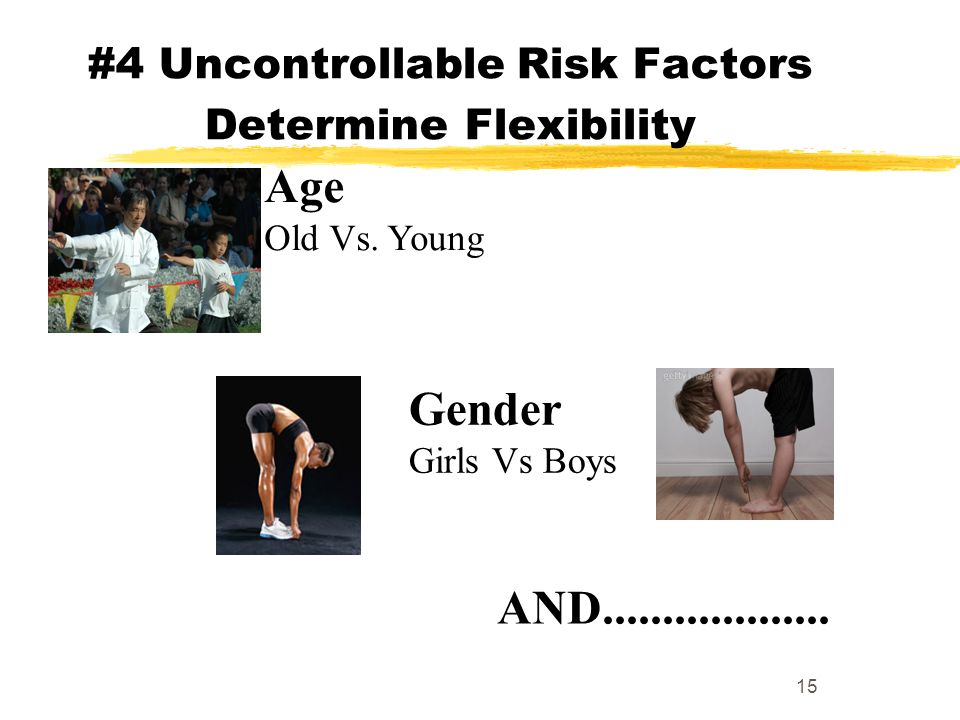 #4 Uncontrollable Risk Factors Determine Flexibility