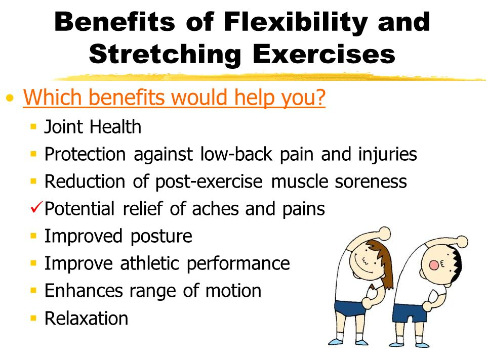What is Flexibility? Flexibility is the ability of a joint ...