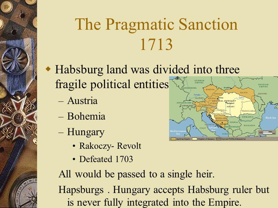 The Pragmatic Sanction 1713