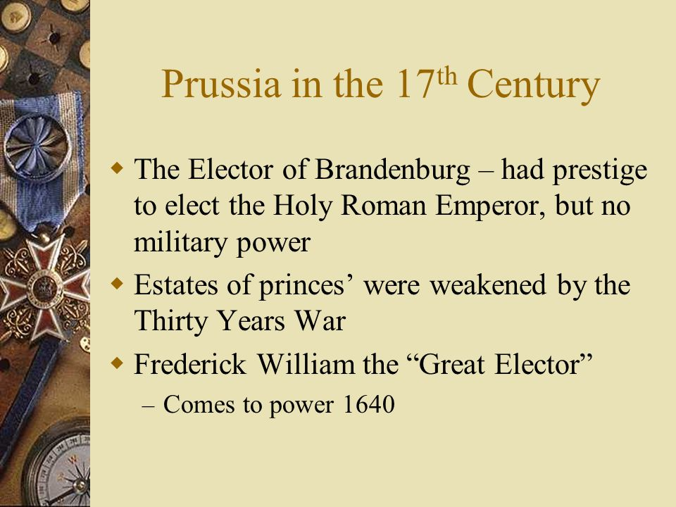 Prussia in the 17th Century