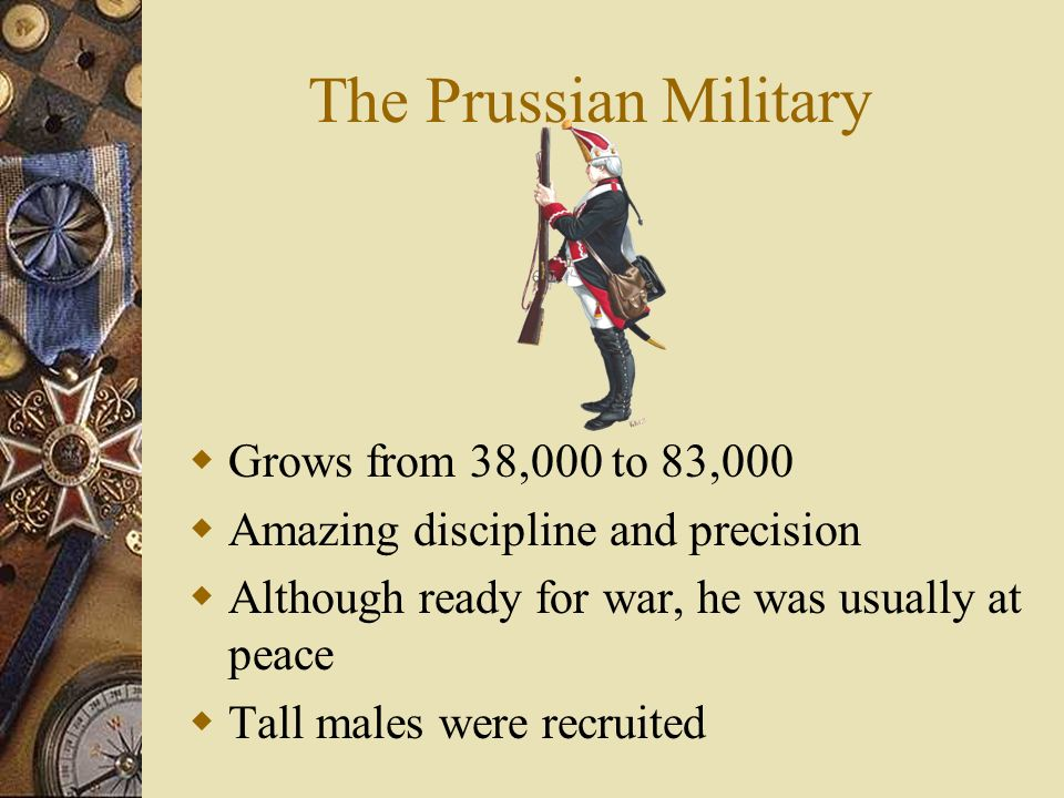 The Prussian Military Grows from 38,000 to 83,000