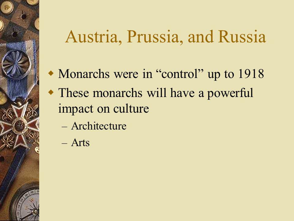 Austria, Prussia, and Russia