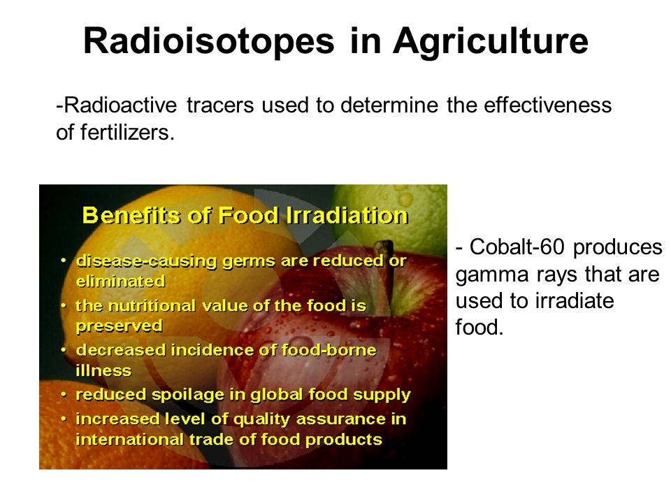 Radioisotopes in Agriculture