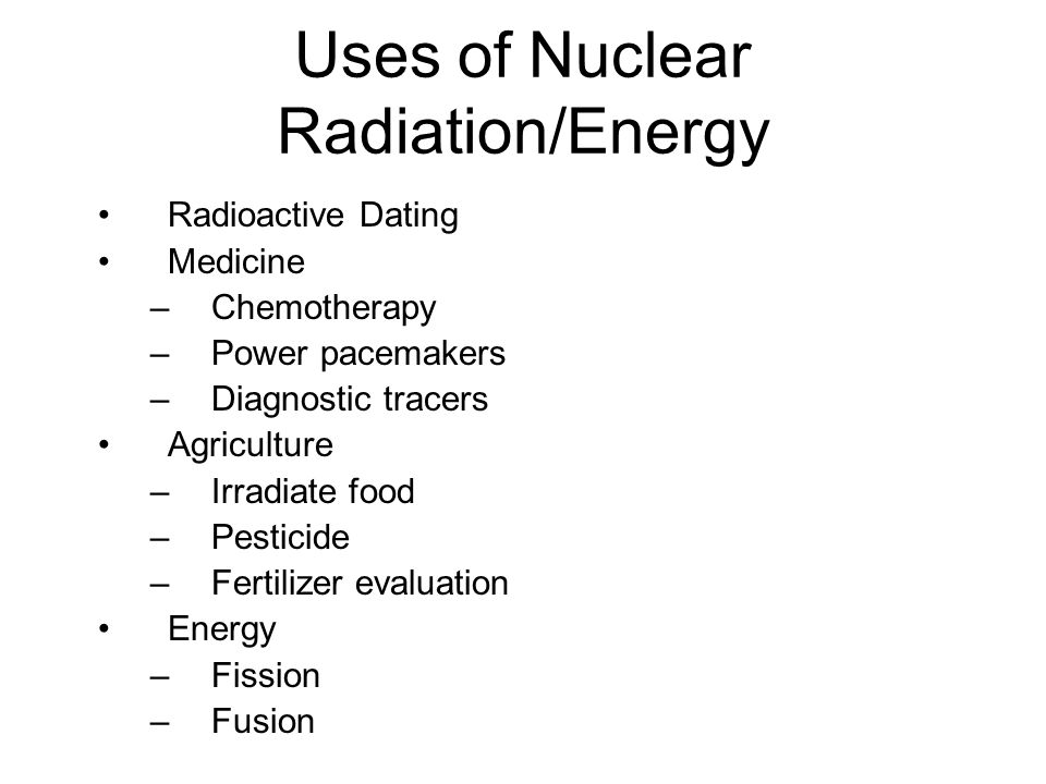 2 medical uses of radioactivity in radioactive dating. modern man dating power download free.