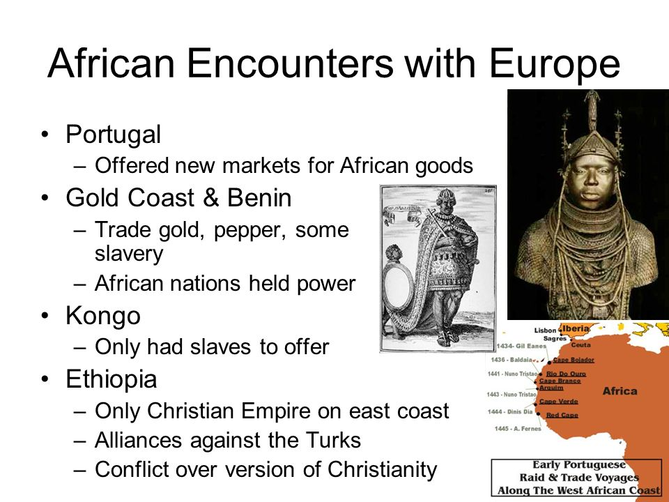 African Encounters with Europe