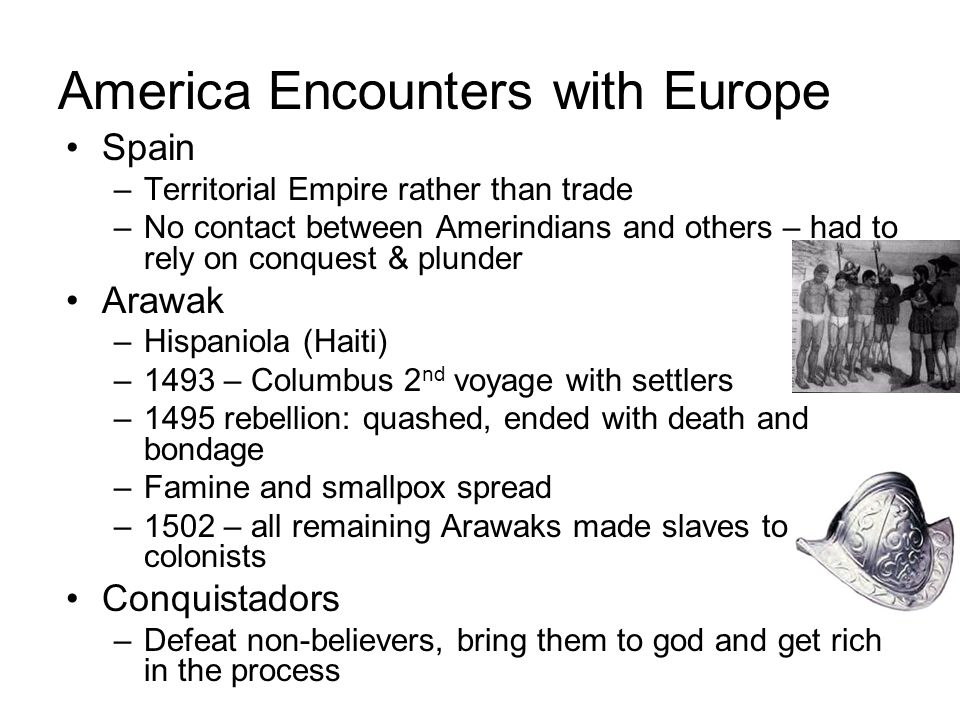 America Encounters with Europe