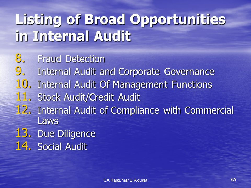 internal audit function and fraud detection Iia practice guide: fraud and internal audit initial detection of occupational fraud the frauds lasted a median of 18 months before being detected.