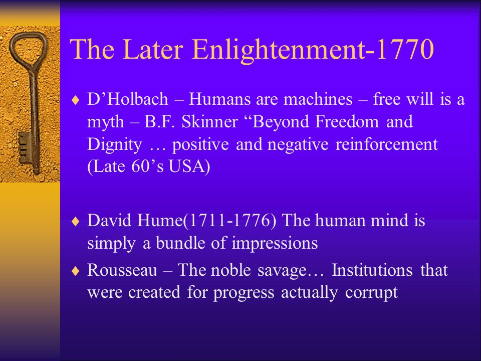 The Later Enlightenment-1770