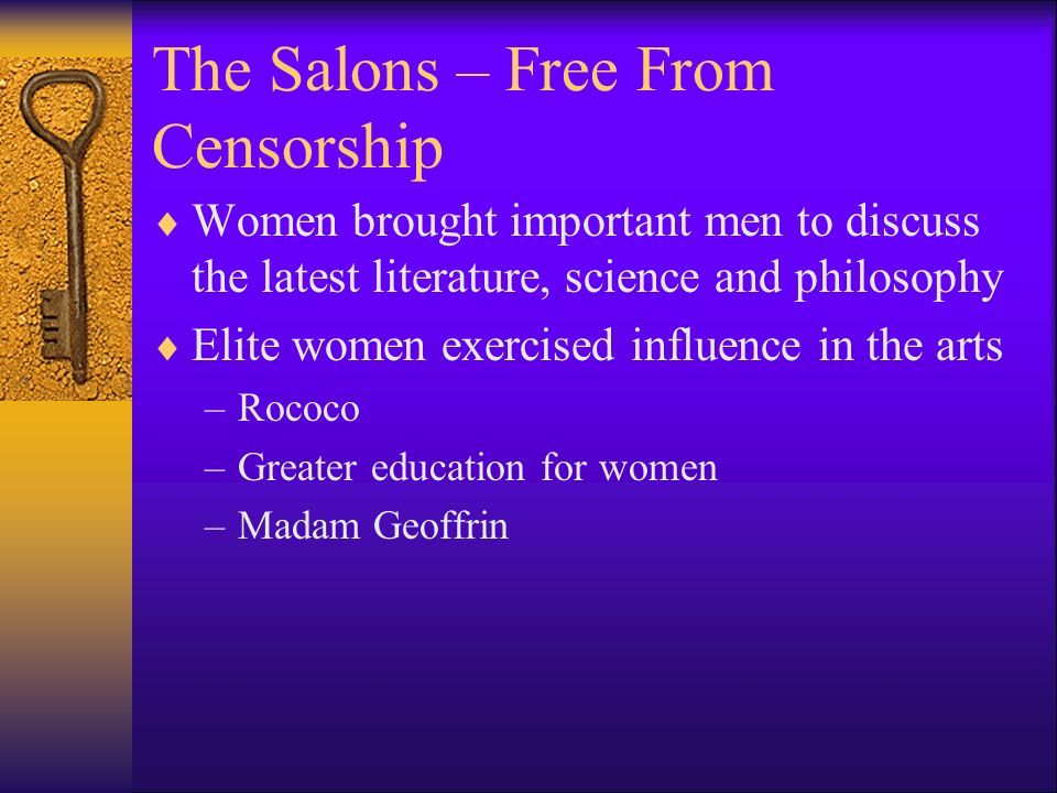 The Salons – Free From Censorship