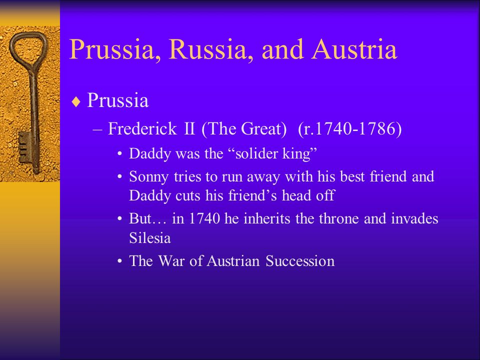 Prussia, Russia, and Austria