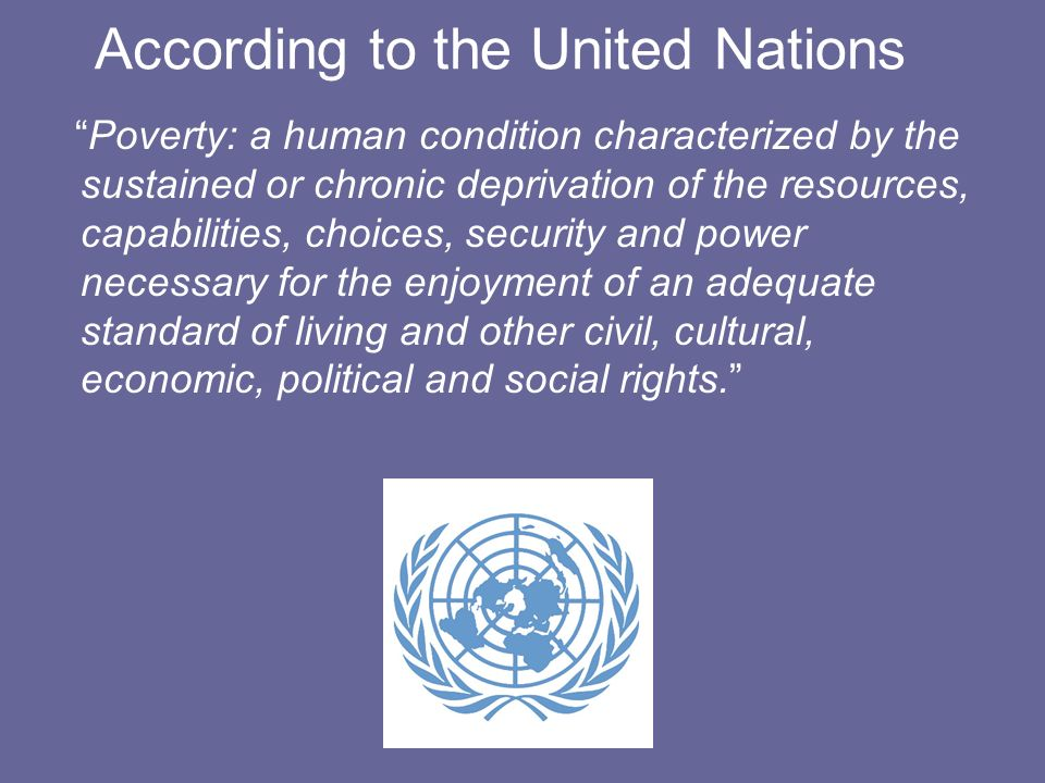 According to the United Nations