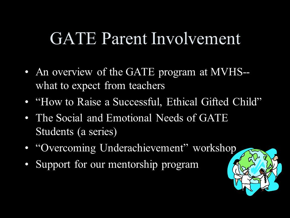 GATE Parent Involvement