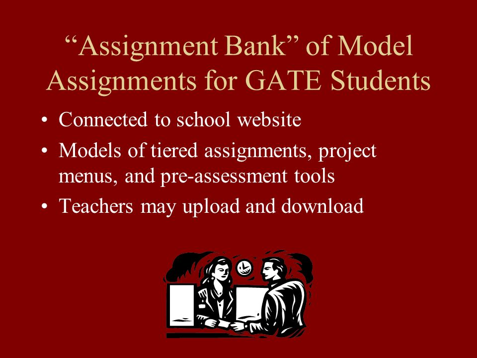 Assignment Bank of Model Assignments for GATE Students