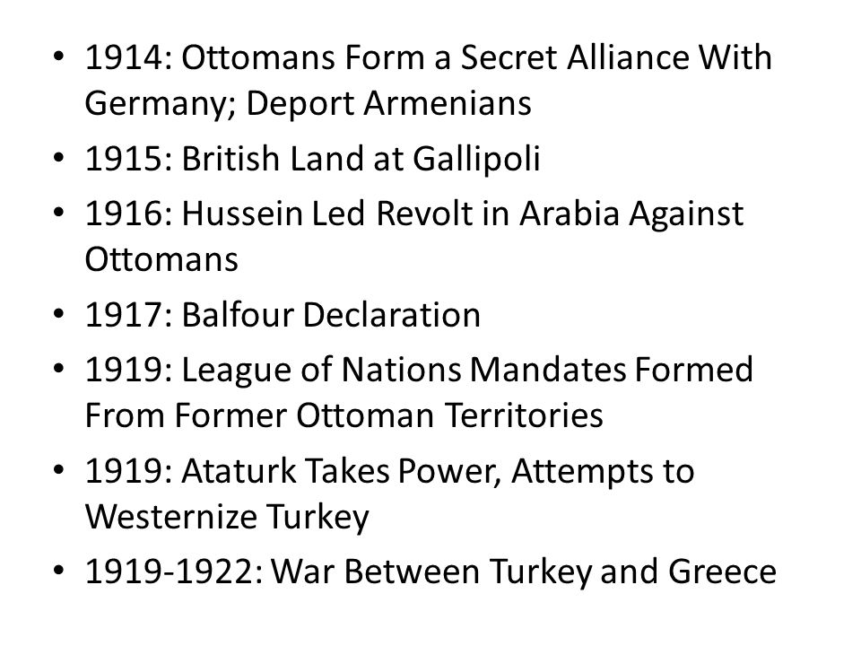 1914: Ottomans Form a Secret Alliance With Germany; Deport Armenians