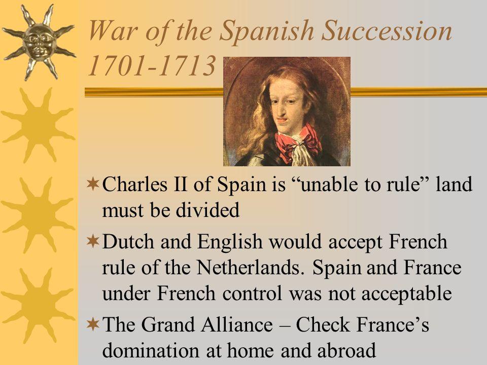 War of the Spanish Succession 1701-1713