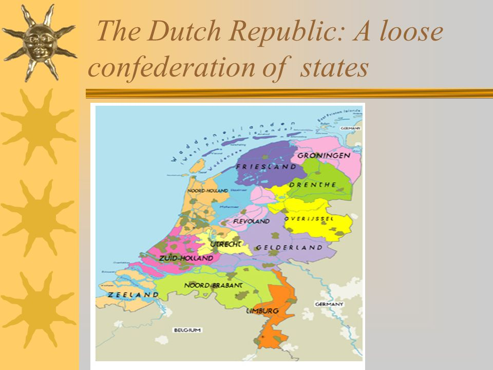The Dutch Republic: A loose confederation of states