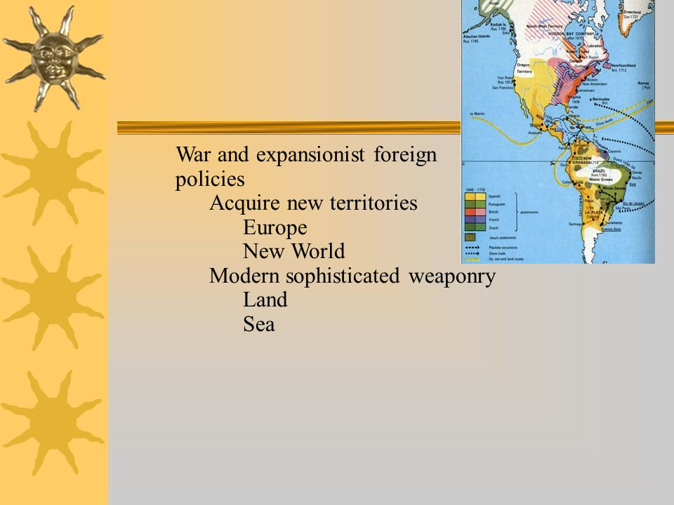 War and expansionist foreign policies