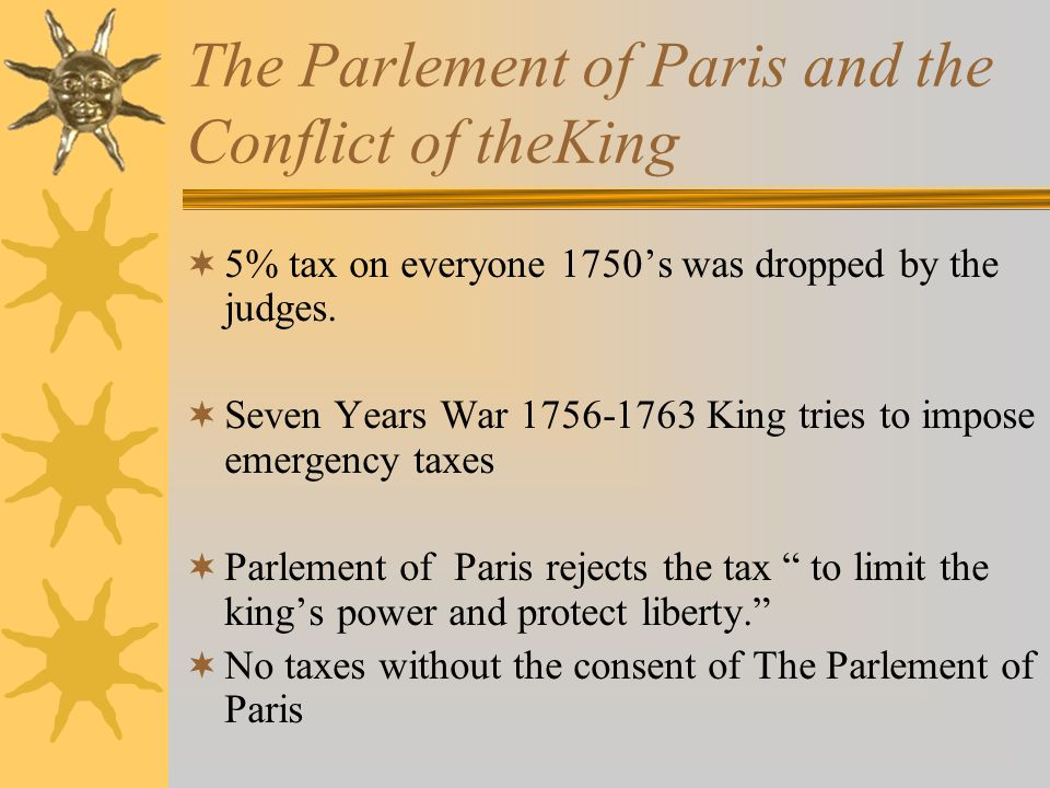 The Parlement of Paris and the Conflict of theKing