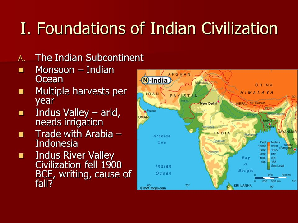 I. Foundations of Indian Civilization