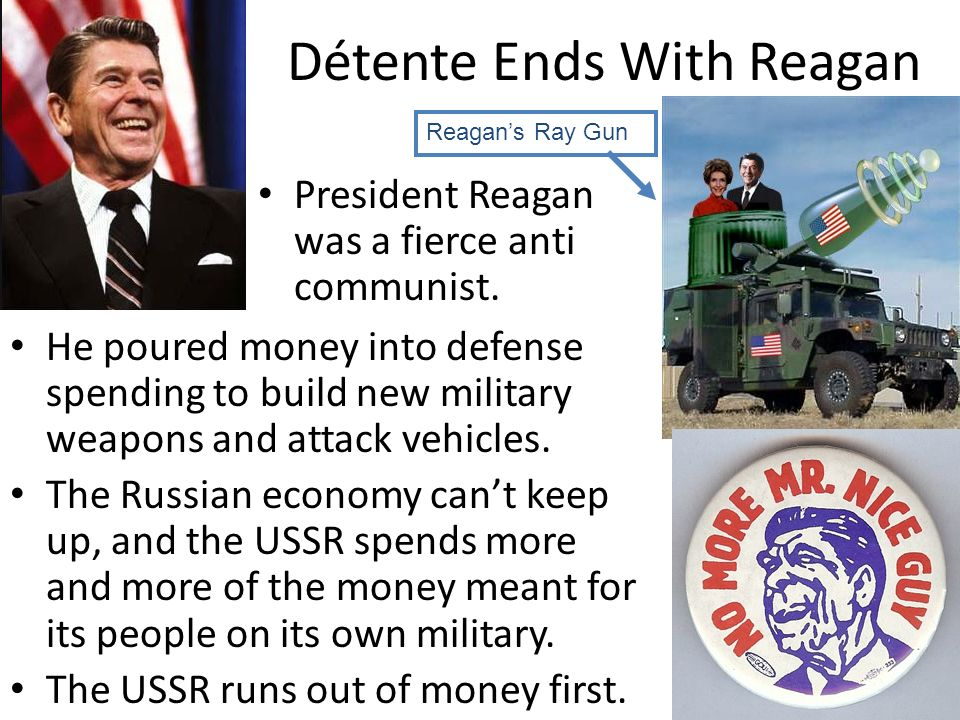 Détente Ends With Reagan