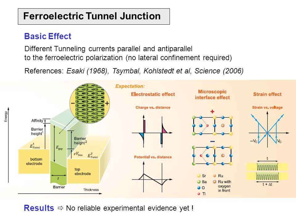 Ferroelectric Tunnel Junction
