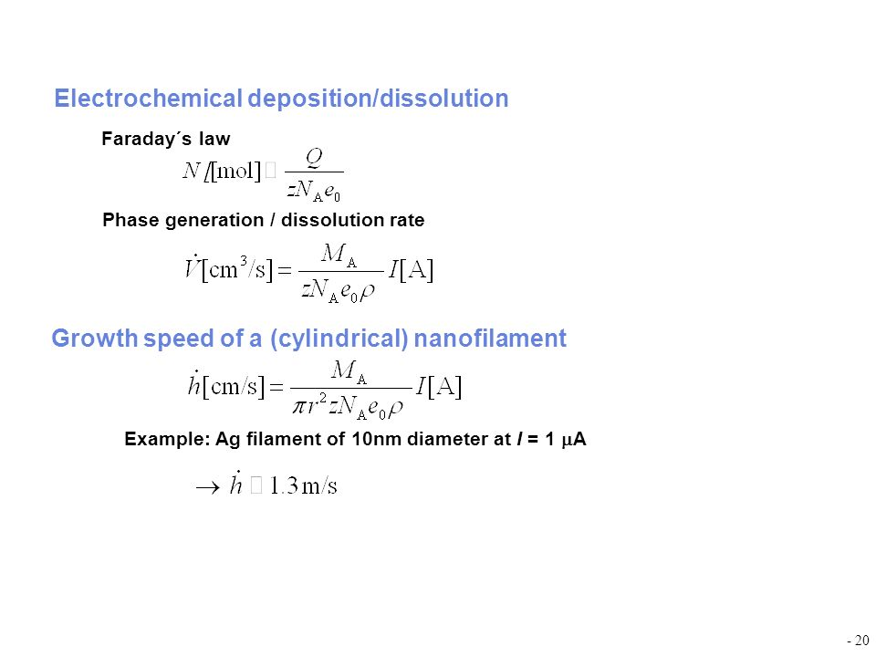 Electrochemical deposition/dissolution