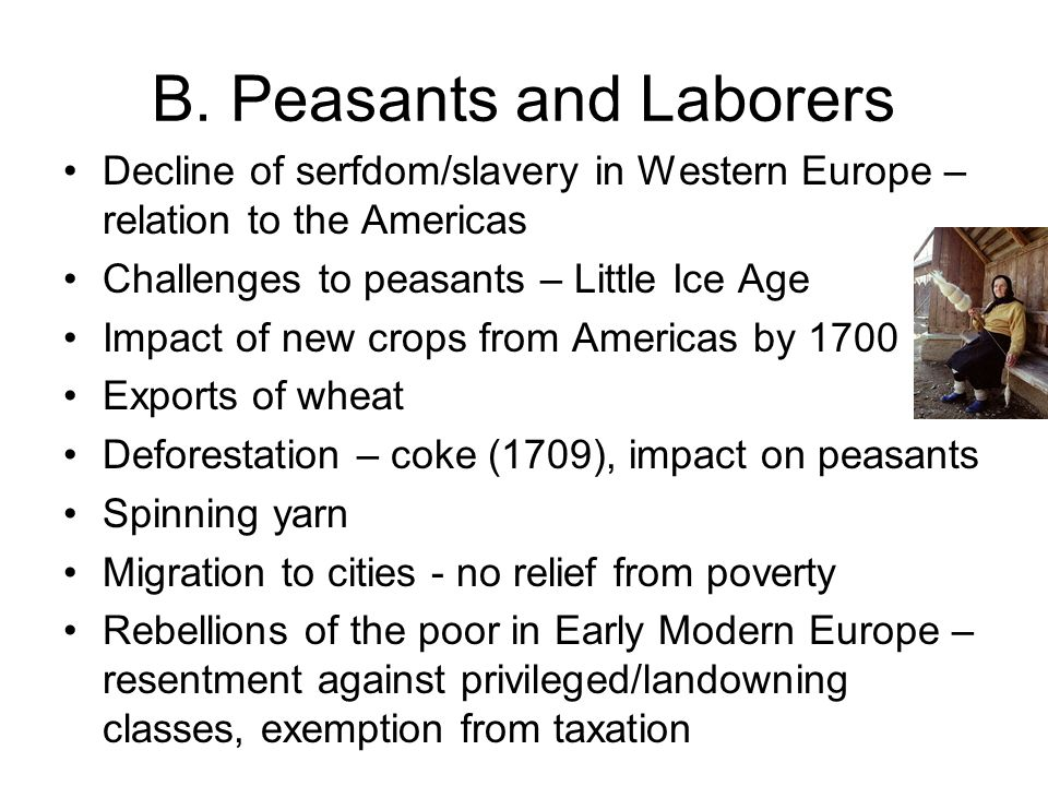 B. Peasants and Laborers