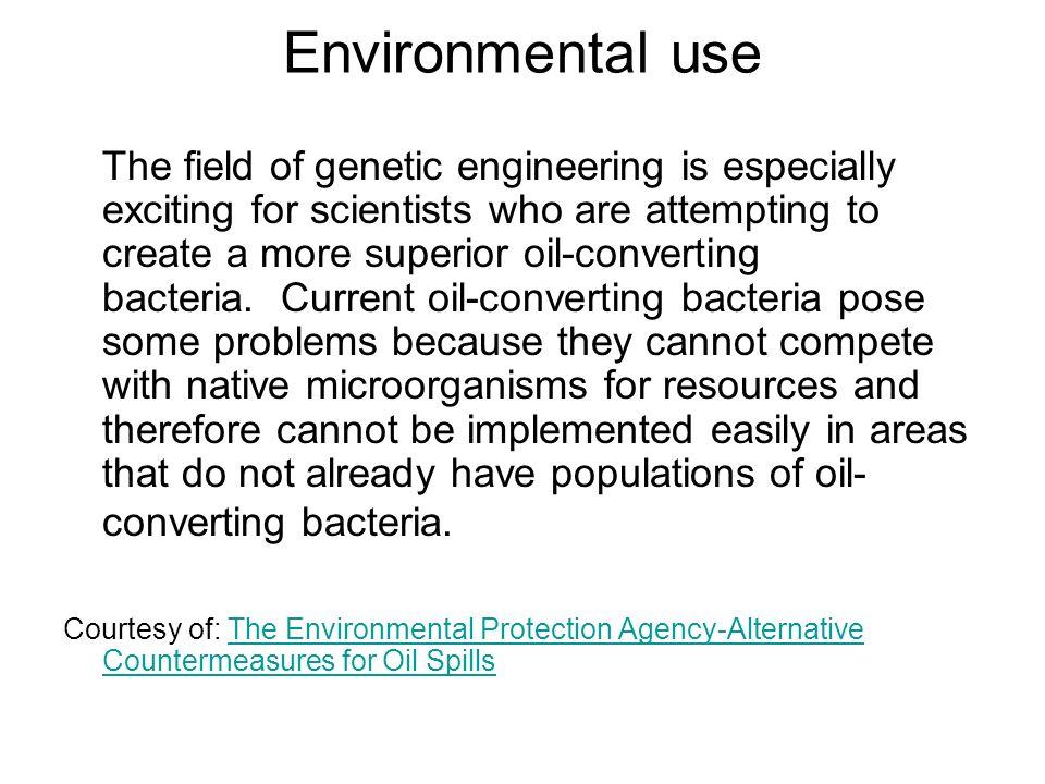 Environmental use
