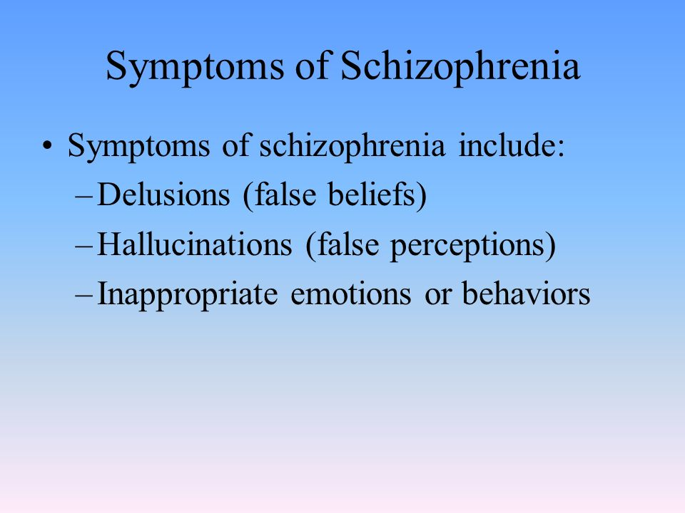 prevalence of inappropriate behavior with schizophrenia Schizophrenia and behavior  flag for inappropriate  2 schizophrenia and behavior modification schizophrenia's complexities have.