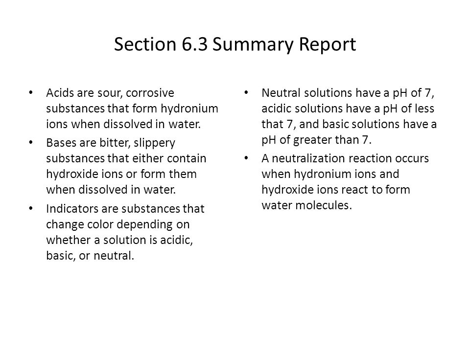 Chapter 6 Solutions, Acids, and Bases - ppt video online download