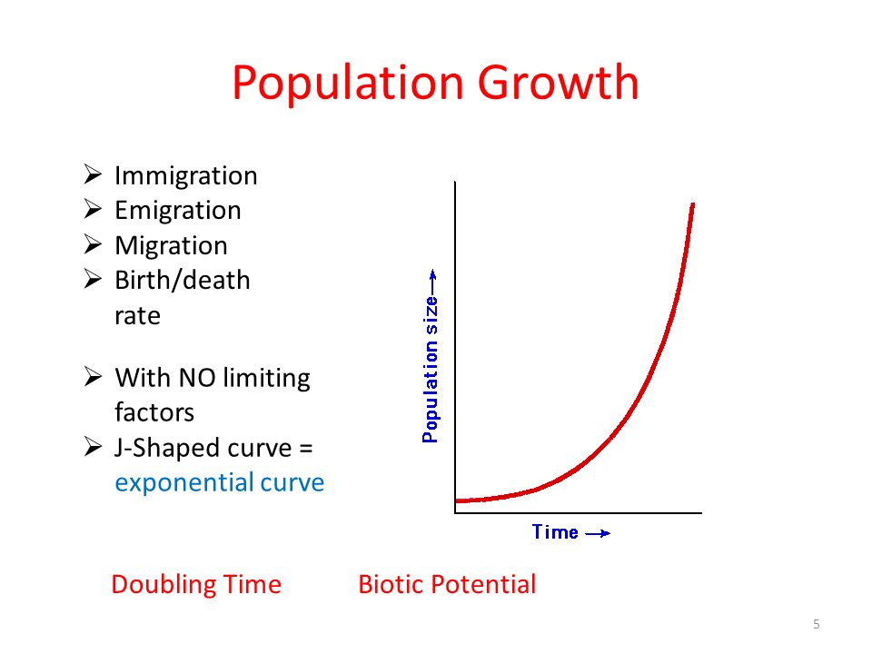 Population Growth Immigration Emigration Migration Birth/death rate